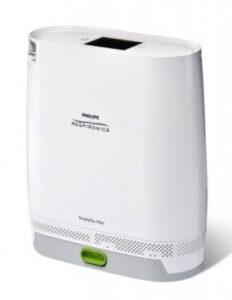 concentratore di ossigeno portatile- disturbi respiratori - Simply go mini