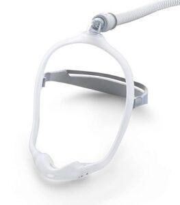 Maschera nasale in silicone per ventilazione con cpap- trattamento delle apnee notturne- DREAMWEAR