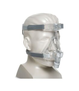 Maschera oronasale in silicone per ventilazione con cpap- trattamento delle apnee notturne- AMARA MASK